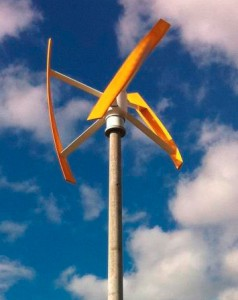 Kleinwindkraftwerk CVT